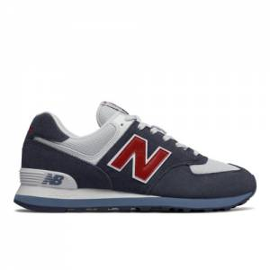 New Balance 574 Core Plus Men's Shoes - Navy (ML574ESC)