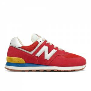New Balance 574 Men's Lifestyle Shoes - Red (ML574HA2)