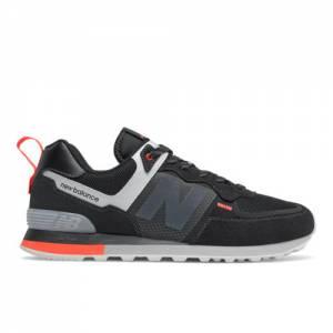 New Balance ML574IV2 Men's Lifestyle Shoes - Black (ML574IL2)