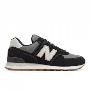 New Balance 574 Men's Shoes - Black (ML574JOA)
