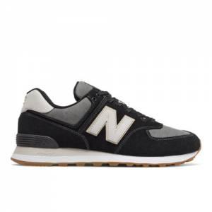 New Balance 574 Men's Shoes - Black (ML574JOA)
