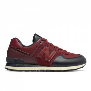 New Balance 574 Men's 574 Shoes - Dark Red (ML574LHB)