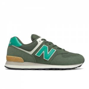 New Balance 574 Men's Lifestyle Shoes - Green (ML574MK2)