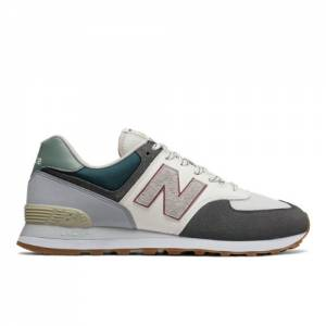 New Balance 574 Unisex Sneakers Shoes - Grey (ML574NFU)