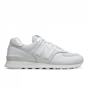 New Balance 574 Men's Shoes - White (ML574NSF)