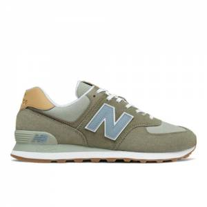 New Balance 574 Men's Lifestyle Shoes - Green (ML574NT2)