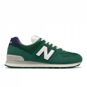 New Balance 574 Men's Shoes - Green (ML574OBD)