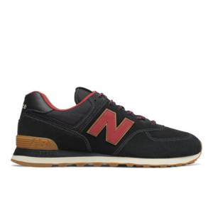 New Balance 574 Men's Shoes - Black (ML574OTD)