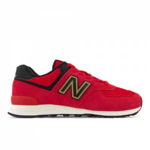 New Balance 574 Men's Lifestyle Shoes - Red (ML574OX2)