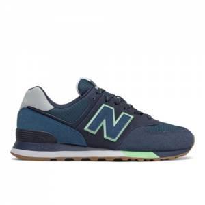 New Balance 574 Men's Lifestyle Shoes - Navy (ML574PU2)