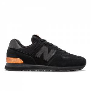 New Balance 574 NYC Marathon Unisex Shoes - Black (ML574RRE)