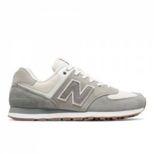 New Balance 574 Retro Sport Men's 574 Shoes - Grey / Silver (ML574RSA)