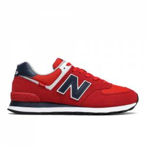 New Balance 574 Men's Lifestyle Shoes - Red (ML574SP2)