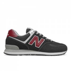 New Balance 574 Men's Running Classics Shoes - Black (ML574SSL)