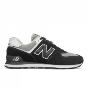 New Balance 574 Men's Running Classics Shoes - Black (ML574SSN)