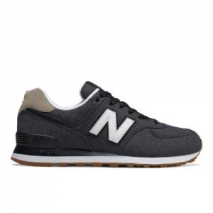 New Balance 574 Men's Shoes - Dark Grey (ML574STE)