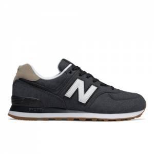 New Balance 574 Men's Shoes - Dark Grey (ML574STE)