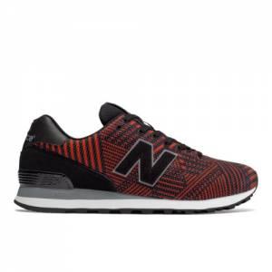 New Balance 574 Beaded Men's 574 Shoes - Black / Red (ML574TBE)