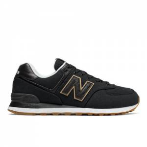 New Balance 574 Men's Shoes - Black (ML574TLC)