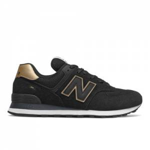 New Balance 574 Men's Lifestyle Shoes - Black (ML574UB2)