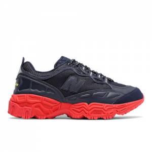 New Balance X Herschel 801 Men's Running Classics Shoes - Navy / Red (ML801HXB)