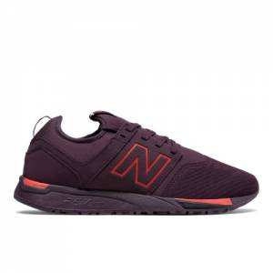 New Balance 247 Classic Men's Sport Style Shoes - Chocolate Cherry (MRL247BP)