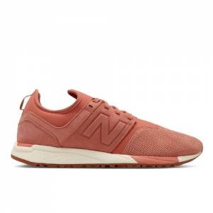 New Balance 247 Luxe Leather Men's Sport Style Shoes - Pink (MRL247CR)