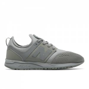 New Balance 247 Sport Men's Sport Style Sneakers Shoes - Grey / Blue Ash (MRL247GB)