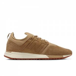 New Balance 247 Luxe Leather Men's Sport Style Shoes - Tan (MRL247HE)