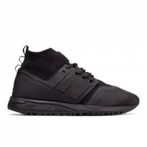 New Balance 247 Mid Men's Sport Style Mid-Cut Shoes - Black (MRL247OB)