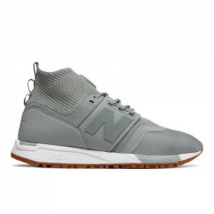 New Balance 247 Mid Men's Sport Style Mid-Cut Shoes - Light Grey (MRL247OW)