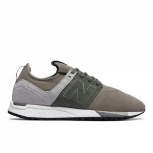 New Balance 247 Luxe Men's Sport Style Shoes - Beige / Grey (MRL247RT)