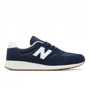 New Balance 420 Re-Engineered Suede Men's Sport Style Shoes - Navy / White (MRL420SQ)