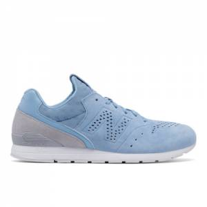 New Balance 696 Re-Engineered Men's Sport Style Sneakers Shoes - Blue / Grey (MRL696DS)