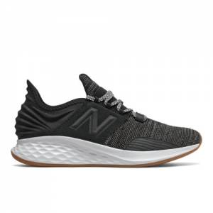 New Balance Fresh Foam ROAV Knit Men's Running Shoes - Black (MROAVKB)