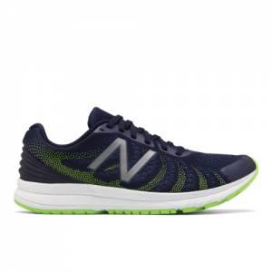 New Balance FuelCore Rush v3 Men's Speed Running Shoes - Navy / Green (MRUSHNL3)