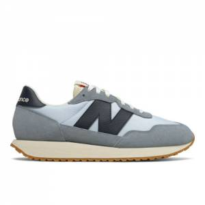 New Balance 237 Men's Lifestyle Shoes - Blue / Black (MS237SA)