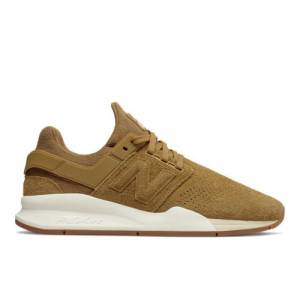 New Balance 247 Men's Sport Style Shoes - Beige (MS247OB)