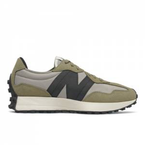 New Balance 327 Men's Lifestyle Shoes - Grey / Green (MS327IB)