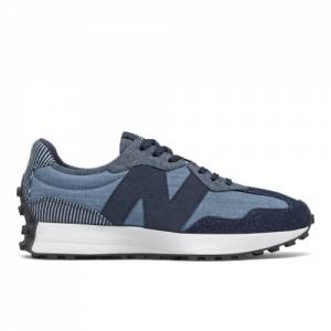 New Balance 327 Men's Lifestyle Shoes - Blue (MS327PA)