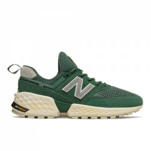 New Balance 574 Sport Men's Sport Style Shoes - Green (MS574AFC)