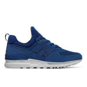 New Balance 574 Sport Men's Sport Style Sneakers Shoes - Blue (MS574BLB)
