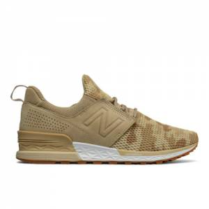 New Balance 574 Sport Decon Men's Sport Style Shoes - Beige Camo (MS574DCB)