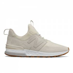 New Balance 574 Sport Men's Sport Style Shoes - Off White (MS574DTW)
