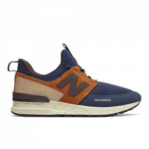 New Balance 574 Sport Men's Sport Style Shoes - Pigment (MS574DTX)