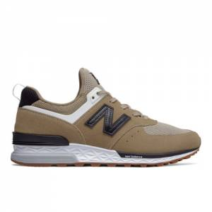 New Balance 574 Sport Men's Sport Style Shoes - Hemp (MS574FBB)