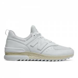 New Balance 574 Sport Men's Sport Style Shoes - White (MS574LSW)