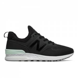 New Balance 574 Sport Men's Sport Style Sneakers Shoes - Black (MS574TMB)