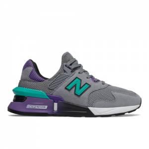 New Balance 997 Sport Men's Lifestyle Shoes - Grey / Blue (MS997JKC)