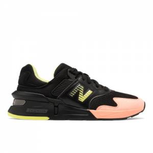 New Balance 997 Sport Men's Sport Style Shoes - Black / Pink (MS997KL1)